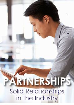 partnership mobile button